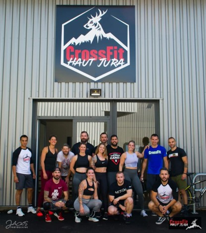 photo des membres de crossfit haut jura